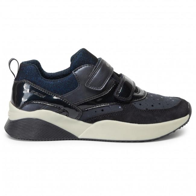 Sinead Sneakers Bambina J949tb Navy Strappi 0dh22 Bambino D Scarpe GB Dk C4021 Basse J Geox Con qGUzVSMp