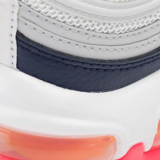Scarpe NIKE - Air Max 97 921733 015 Pure Platinum/Laser Orange - Sneakers - Scarpe basse - Donna
