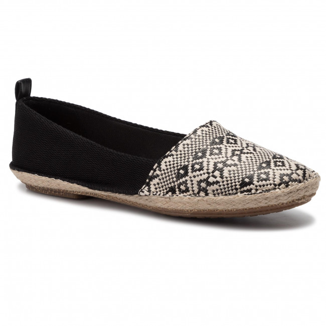 Espadrillas CLARKS - Clovelly Sun 261429514 Black Interest