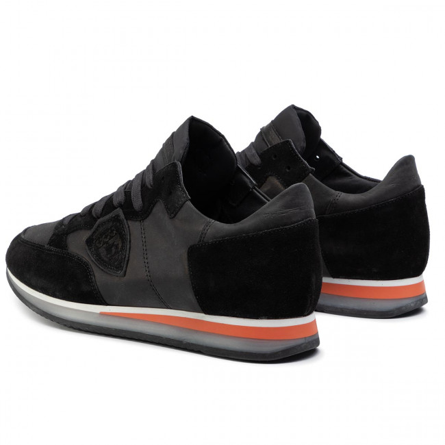 Philippe Model Uomo Basse Wz01 Tropez Scarpe Sneakers Noir Trlu Mondial MUGSpjqLzV