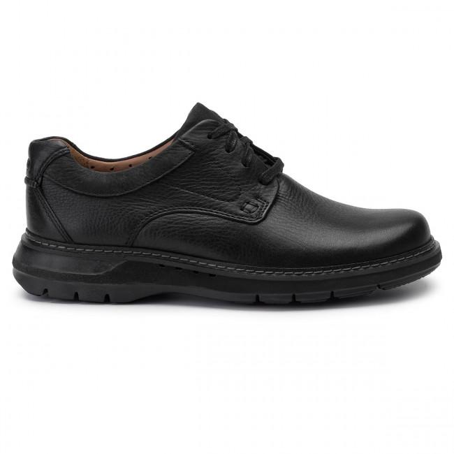 Scarpe basse CLARKS Un Ramble Lo 261369927 Black Leather