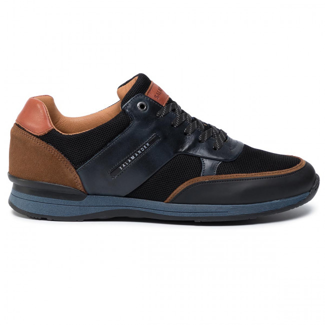 31 09 brown Uomo Sneakers Salamander Basse 56208 Avato Navy black Scarpe Yfyb76g