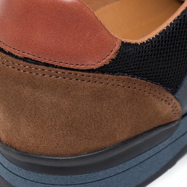 Navy Avato 09 Scarpe Salamander Sneakers Uomo black brown 56208 31 Basse shBrQdxCto