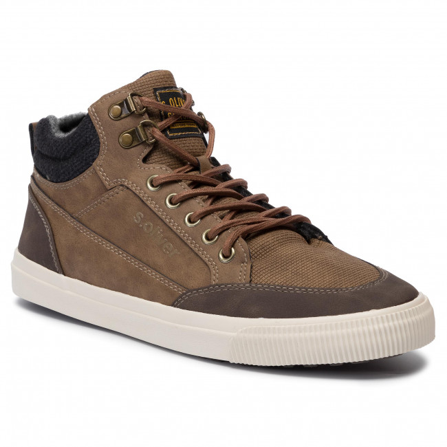 S Sneakers 23 300 Basse 15224 oliver Scarpe Uomo Brown 5 sxQrBtChd