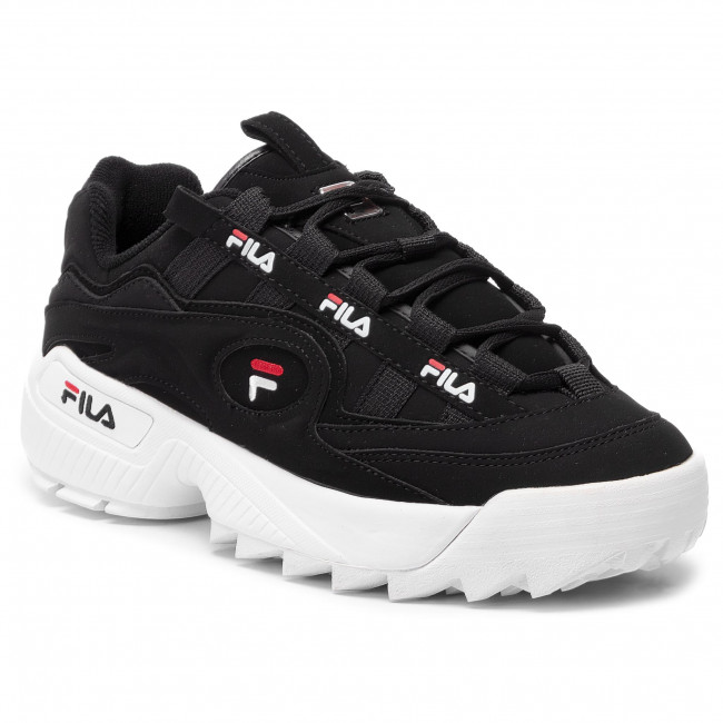 Sneakers FILA D Formation Men 1CM00490.014 BlackWhiteFila Red