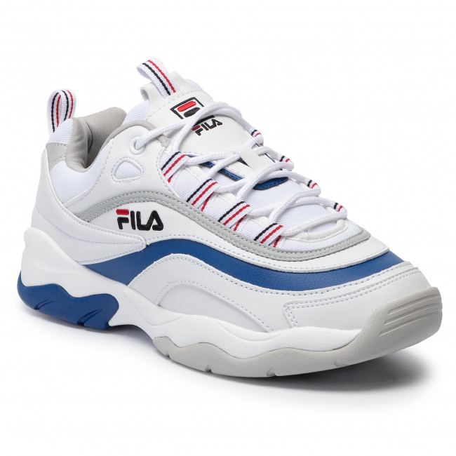 Uomo electric Sneakersy White Scarpe Ray gray Blue Fila Violet Basse 1010578 Low 02g Sneakers nv0NOym8w
