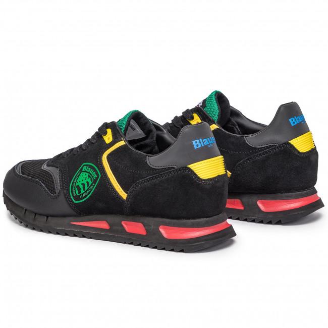 Fantasy Uomo Sneakers 9fmemphis06 Basse Blauer mel Scarpe DHIEYW29eb