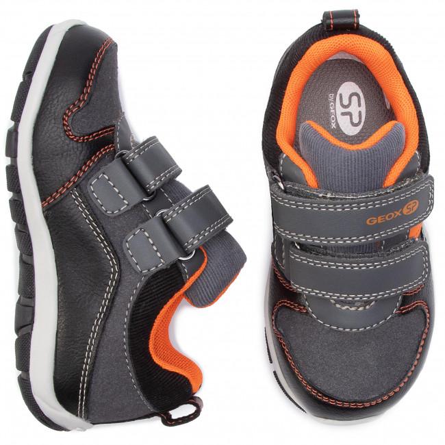 Scarpe Strappi C0038 Basse Bambino 0meaf Geox Sneakers D orange B Heira BA B943xa Black HbDWE2e9IY