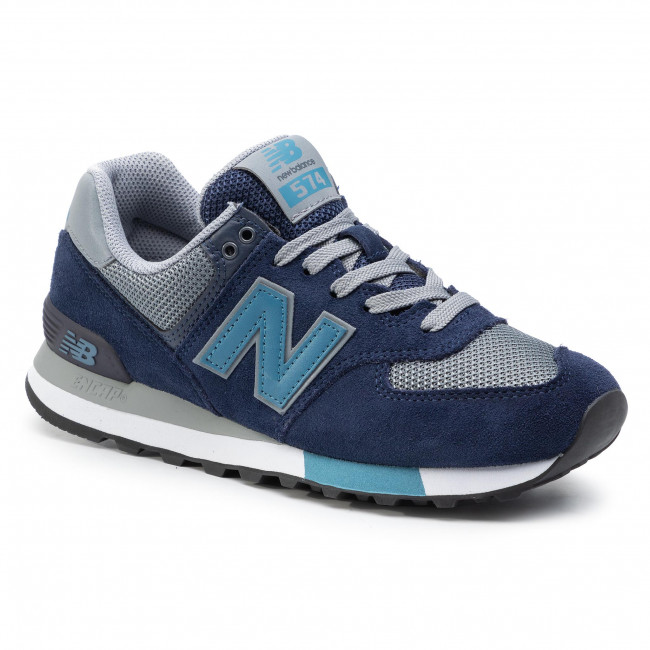Sneakers NEW BALANCE ML574FND Blu scuro