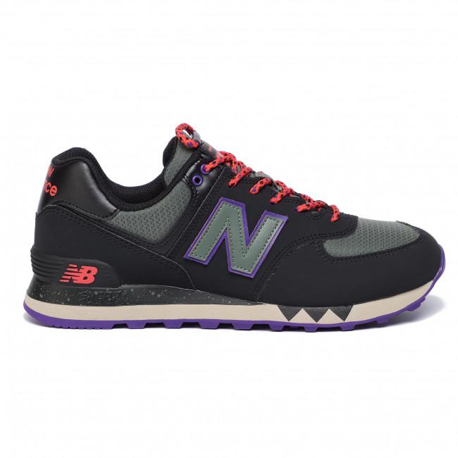 Ml574nfq Sneakers Scarpe Balance Nero Uomo New Grigio Basse ALc53qR4jS
