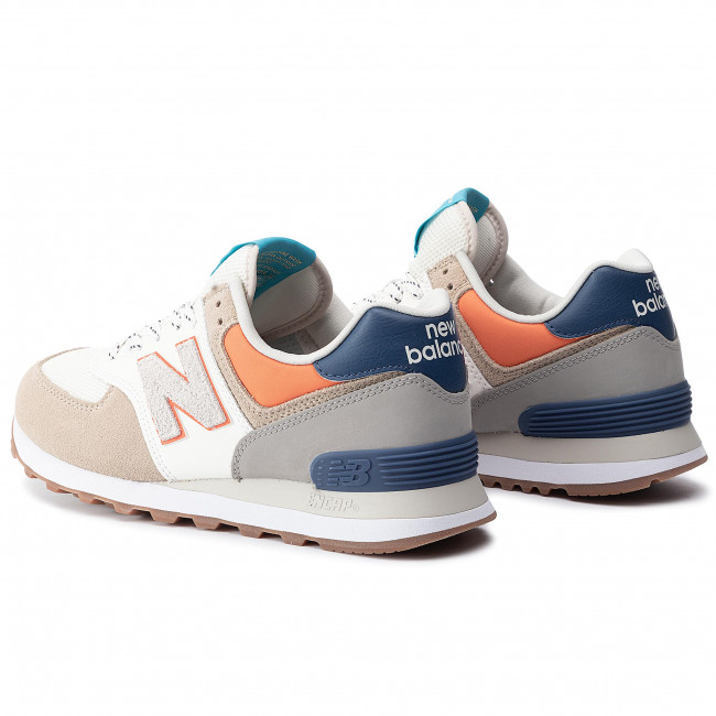 Ml574nft Sneakers Scarpe Uomo Balance Beige Blu New Basse kPiwOZuXT