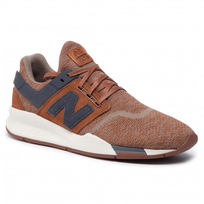 new balance 247 marrone