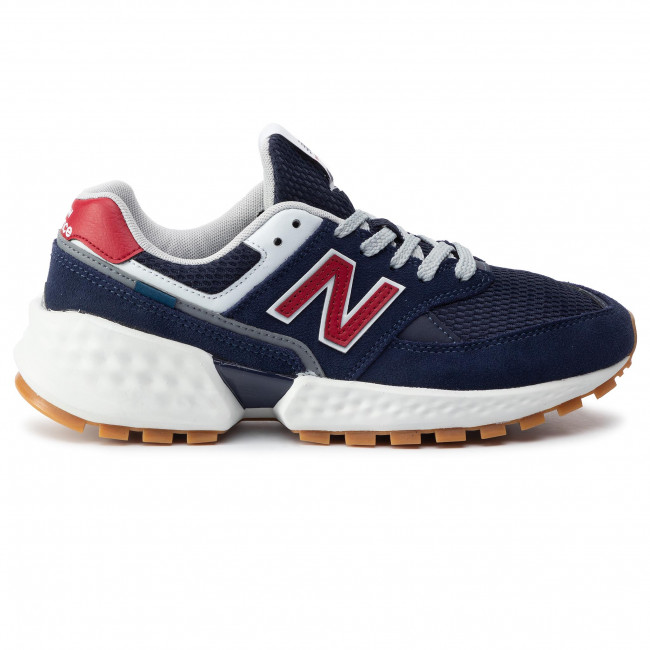 Uomo Scarpe Blu Scuro New Basse Ms574asn Sneakers Balance v7y6bfYg