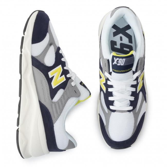 Bianco Uomo New Sneakers Balance Scarpe Multicolore Basse Msx90ttk dBErCQoeWx