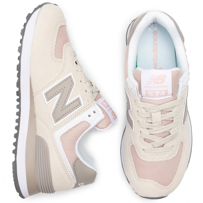 Wl574wna New Basse Donna Beige Scarpe Balance Sneakers hxsdCtrQ