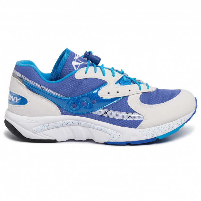 Scarpe SAUCONY - Aya S70460-2 Wht/Blu/Lt Blu - Scarpe da allenamento - Running - Scarpe sportive - Uomo