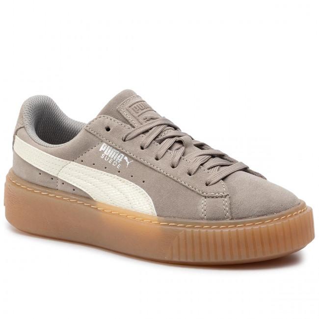 Sneakers PUMA Suede Platform Snk Jr 363906 05 Rock RidgeWhisper White