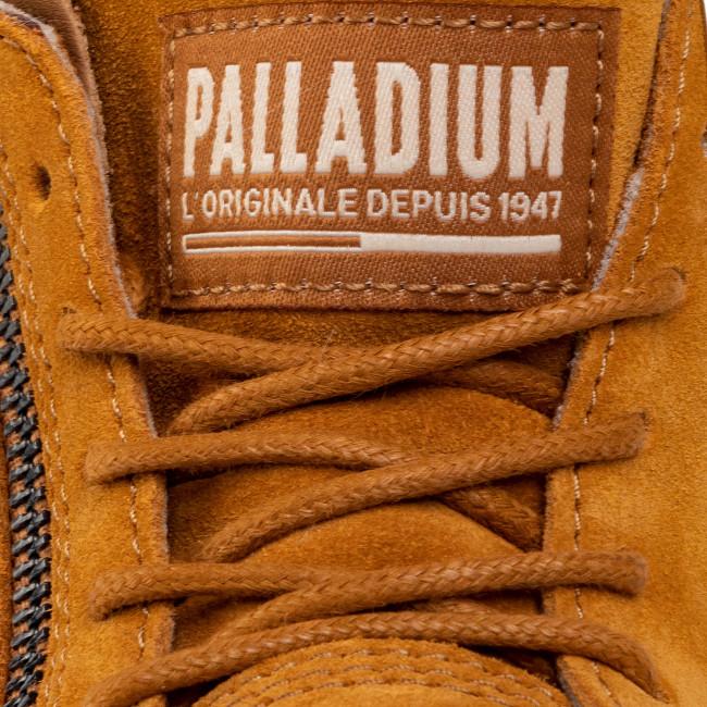 Scarponcini PALLADIUM - Moscow Lp Lth W 96469-251-M Cathay Spice - Scarpe da trekking e scarponcini - Stivali e altri - Donna