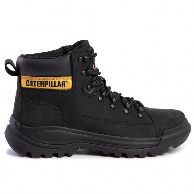Scarponcini CATERPILLAR - Brawn P723278 Mid Black - Scarpe da trekking e scarponcini - Stivali e altri - Uomo
