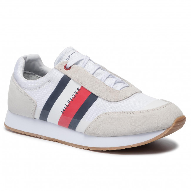 455fb86d0e Sneakers TOMMY HILFIGER - Corporate Mix Flag Runner FM0FM02379 White ...