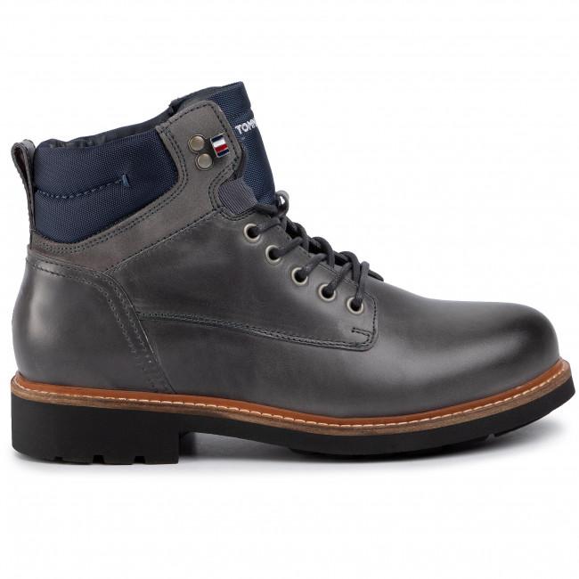 Polacchi TOMMY HILFIGER Active Leather Boot FM0FM02427 Griffin 007