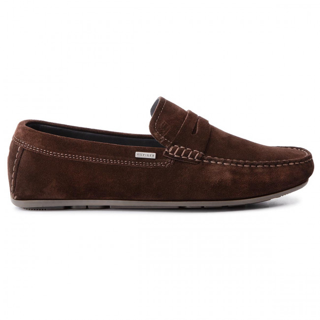 Mocassini TOMMY HILFIGER Classic Suede Penny Loafer FM0FM02109 Coffee Bean GB6