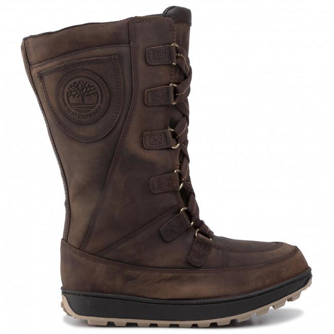 Stivali da neve TIMBERLAND Mukluk 8 in Waterproof Boot TB076916214 Md Brown Full Grain