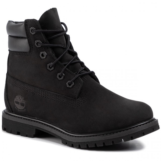 Scarponcini TIMBERLAND Waterville 6 In Waterproof Boot TB0A15QY0011 Black Nubuck