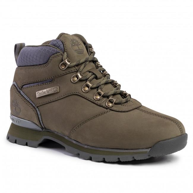 Scarpe da trekking TIMBERLAND Splitrock Mid Hiker TB0A1RIXA581 Dark Green Nubuck