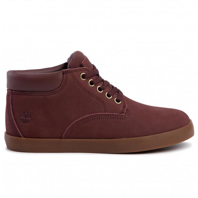 Sneakers TIMBERLAND Dausette Chukka TB0A23DAF261 Dark Brown Nubuck