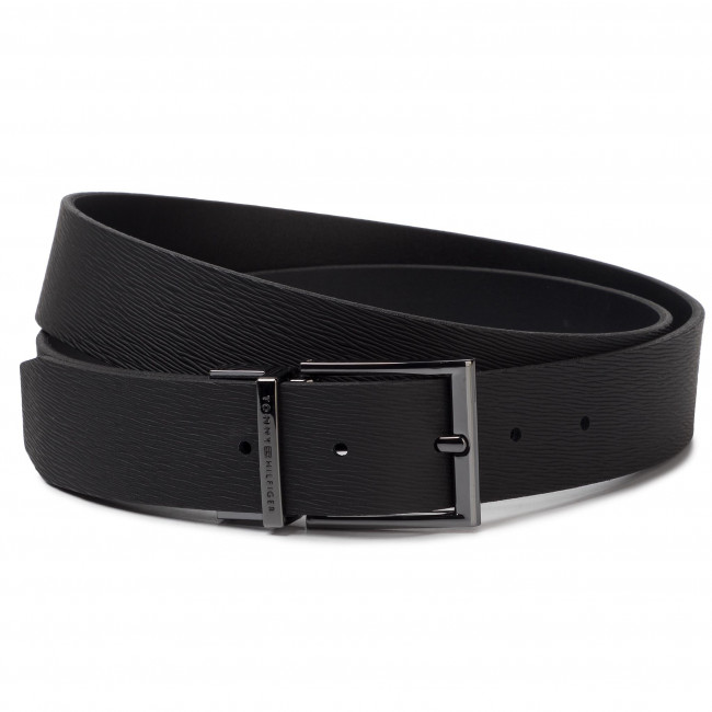 Cintura da uomo TOMMY HILFIGER Formal Reversible Adj Belt 3.5 AM0AM05122 BDS