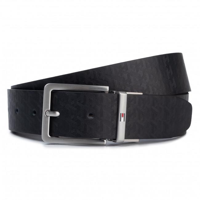 comprando ora grande selezione del 2019 beni di consumo Cintura da uomo TOMMY HILFIGER - Modern Rev Monogram Leather Belt  AM0AM05487 0GJ