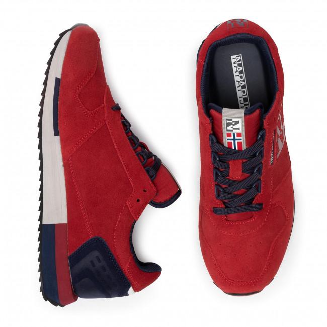 Basse Na4dwc Scarpe Napapijri Virtus Scarlet Sneakers R01 Red Uomo OkiXPuZT