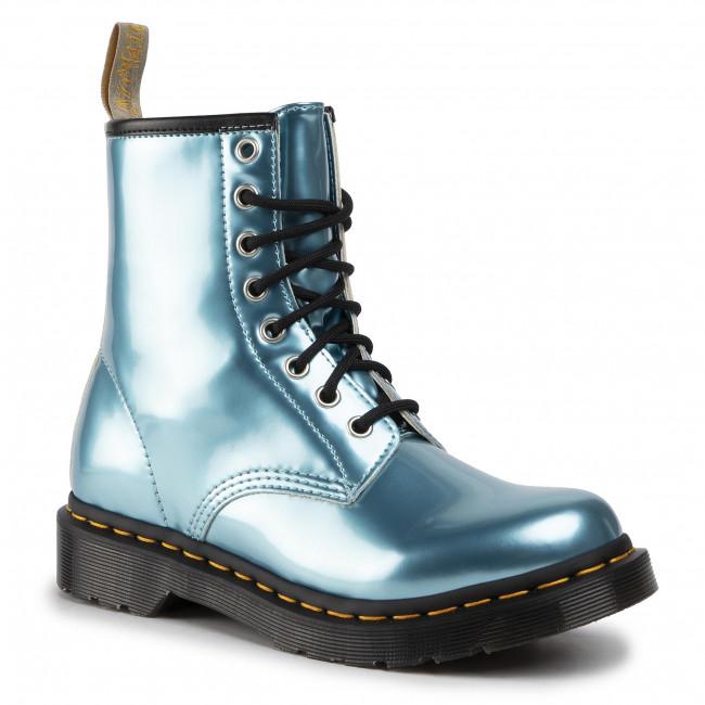 Anfibi DR. MARTENS - 1460 Vegan 25279400 Blue/Goldmix