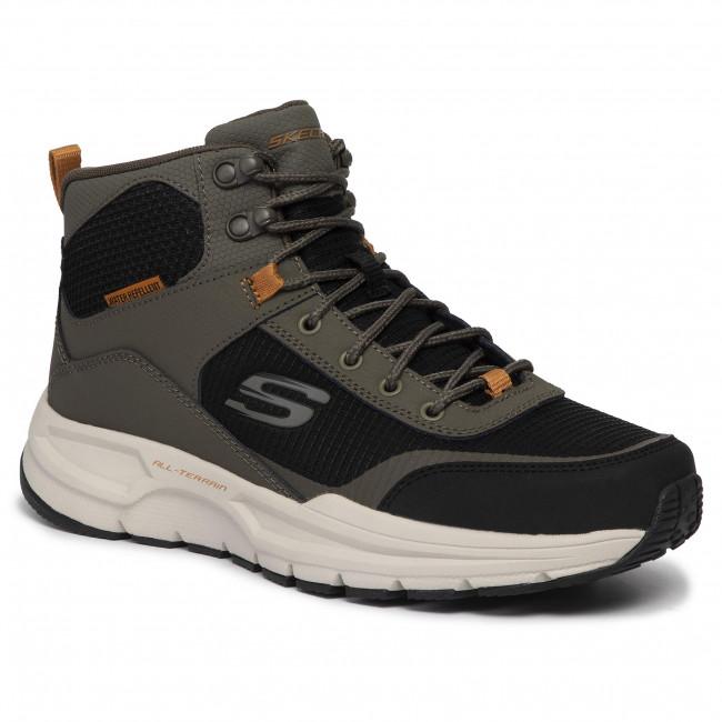 bambino prezzo moderato stile classico Scarpe da trekking SKECHERS - Woodrock 51705/OLBK Olive/Blk