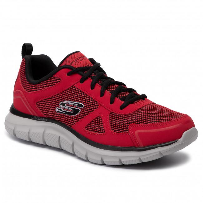 Scarpe SKECHERS - Bucolo 52630/RDBK Red/Black