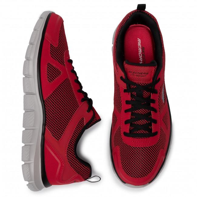 rdbk 52630 Sportive Uomo Red Fitness Bucolo black Scarpe Skechers 8XNOZnPkw0