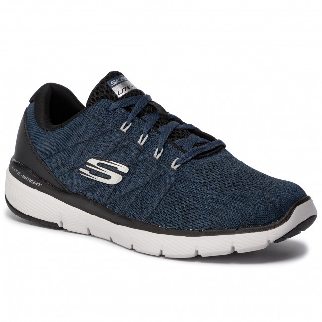 meet 870d8 ffeee Scarpe SKECHERS - Stally 52957/BLBK Blue/Black