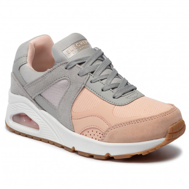 gypk Basse pink Skechers Gray Donna 73689 Sneakers Super Scarpe Fresh jq45A3LcR