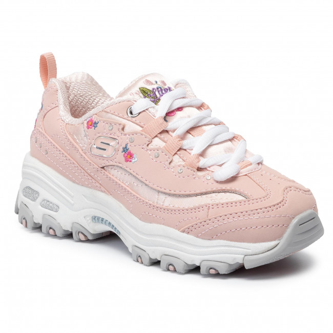 Sneakers SKECHERS - Bright Blossoms 80589L/LTPK Light Pink