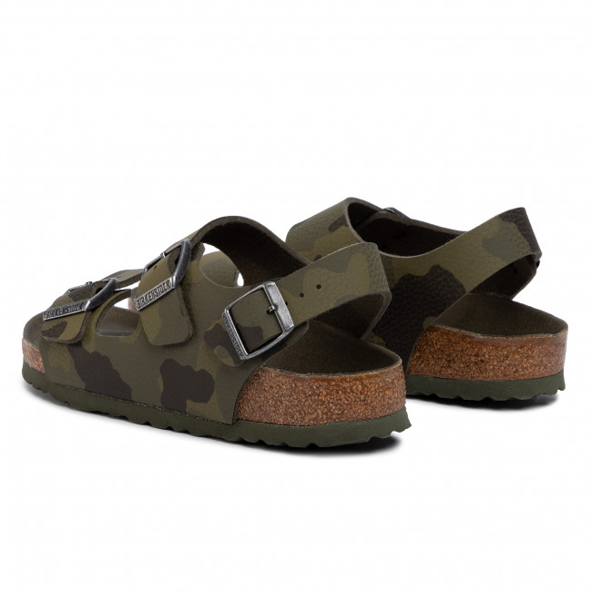 Sandali BIRKENSTOCK Milano Kinder 1014590 D Desert Soil Camouflage Green