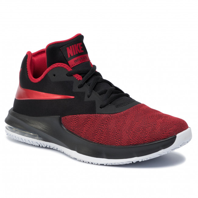 white Max Pallacanestro Nike Aj5898 Infuriate Scarpe Black Low Iii Sportive Uomo university Air 003 Red FJclK1