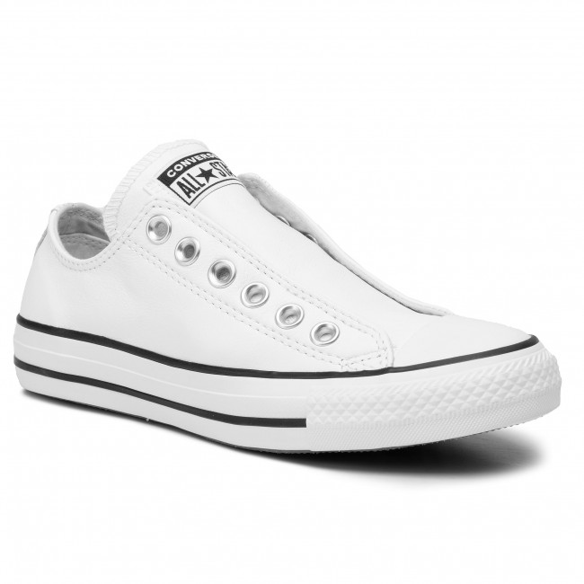 Scarpe da ginnastica CONVERSE Ctas Slip 164975C White/White/Black
