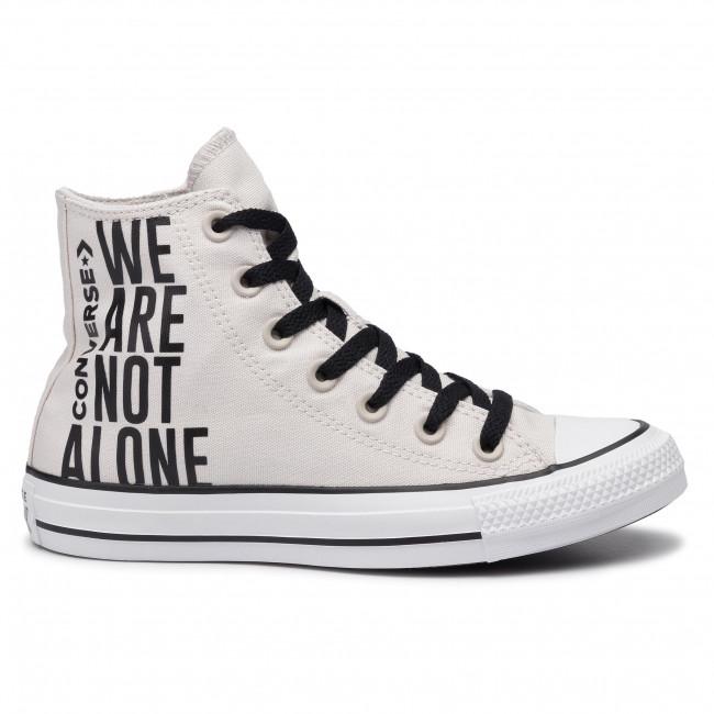 Ctas Da Hi white Basse Converse Scarpe Pale black Donna Putty Ginnastica 165468c 4jqLS5ARc3