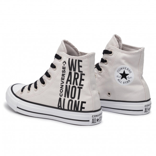 Ctas Hi Scarpe Ginnastica 165468c Putty black Basse Donna Da Pale white Converse IyYvbf67g