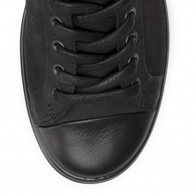 Donna 44040351052 Soft Scarpe Basse black 7 Sneakers Ecco Black W 1lJKc5TF3u