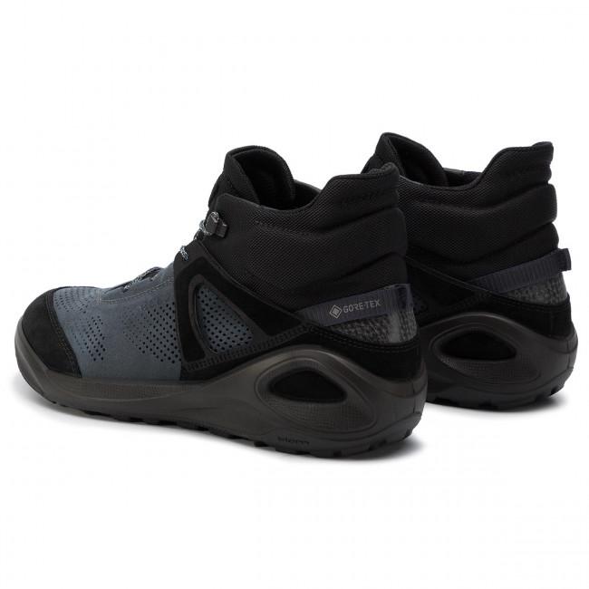 Dettagli su Ecco Biom 2Go Trigolo GTX Uomini Uomo Gore Tex Sneakers Esterno Stringata 801904