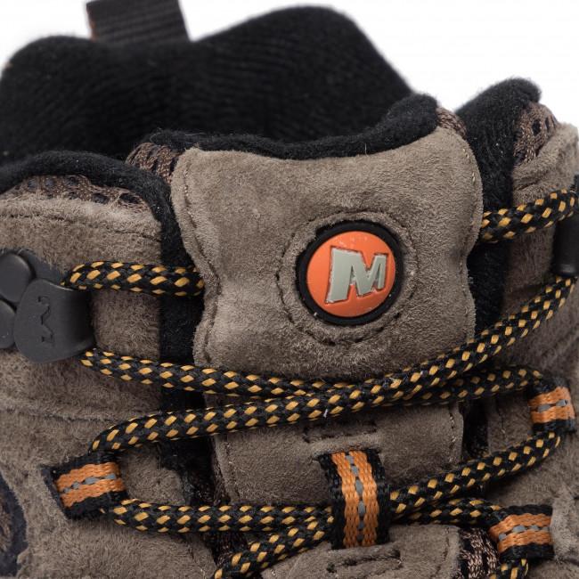 J06045 Trekking E Scarpe Uomo Vent Stivali Merrell Mid Scarponcini 2 Altri Moab Walnut Da H9DIW2E