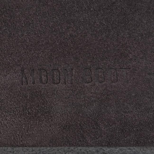 Stivali Da Neve Moon Boot - Mb Far Side Low Suede 24201500002 Anthracite E Altri Donna