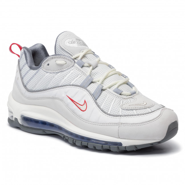 Basse White Nike Uomo Silver Summit Scarpe Air 100 98 Max metallic Sneakers Cd1538 hrstQCdx